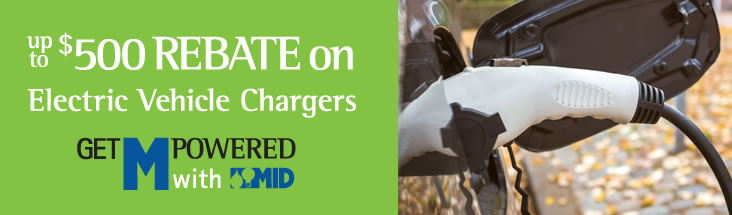 2019 Electric Vehicle Charger Rebate